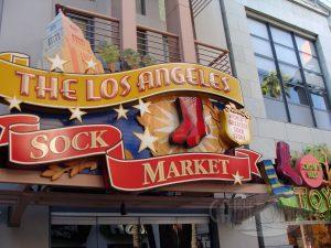 The Los Angeles Sock Market