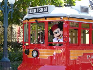Red Car Trolley – Buena Vista Street – Disney California Adventure