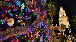 Buena Vista Street Holiday Tree Lighting