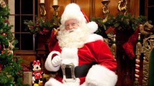 Santa's Holiday Visit at Redwood Creek Challenge Trail
